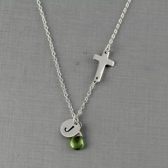 newchain peridot trine jewelry aug august tuxen birthstone necklace webshop product